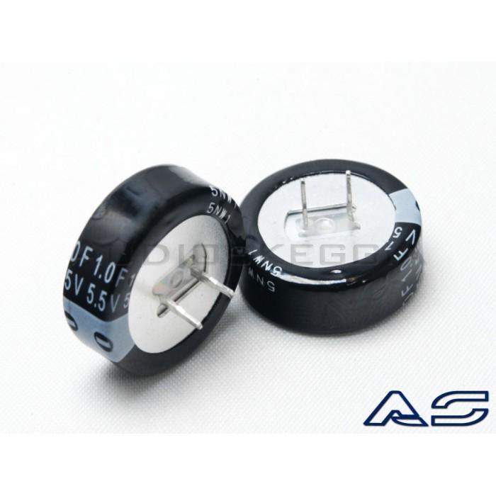 N.2 Supercap 5.5V 1Farad Super Condensatore