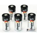 N.5 Batterie CR123 Litio Energizer originali.