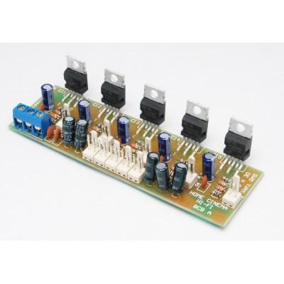 Amplificatore multicanale 5x18 Watt Home Theatre con TDA2030