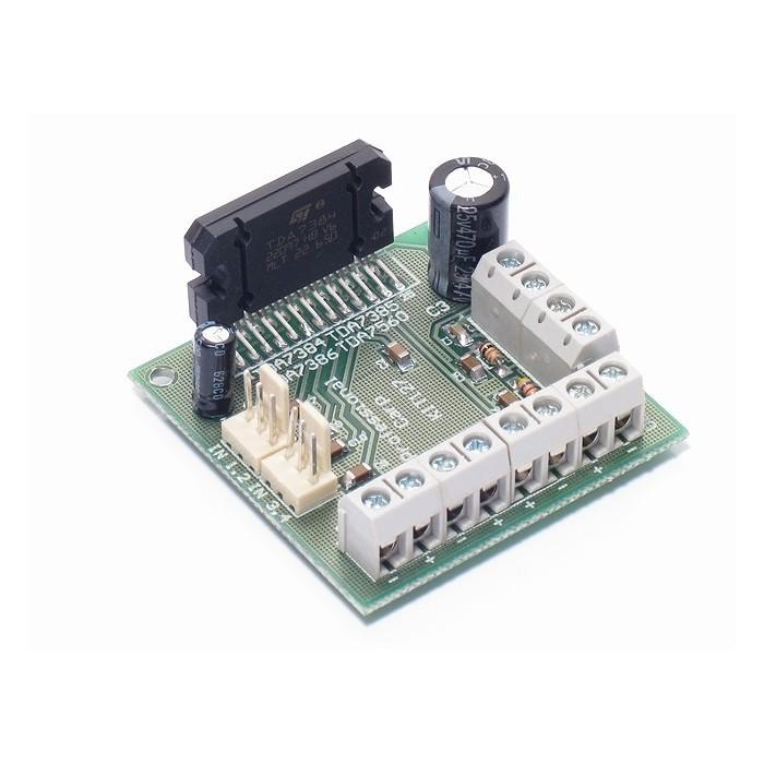 Amplificatore multicanale 4x35Watt Home Theatre con TDA7386