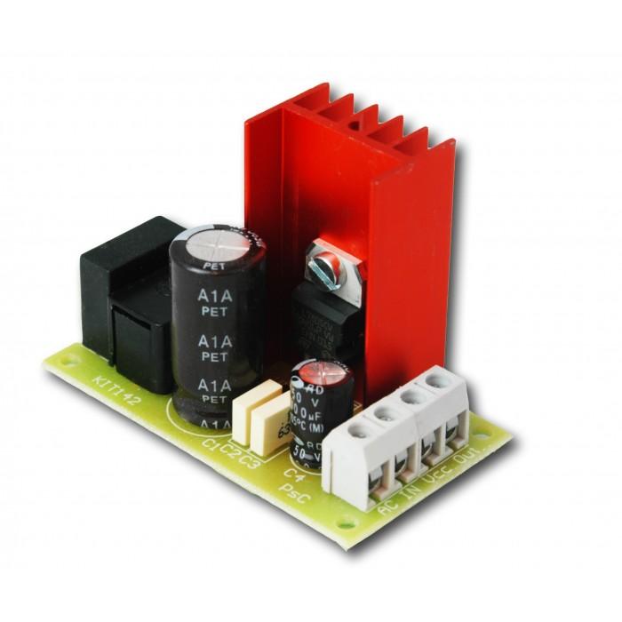 Alimentatore Stabilizzato 12 Vdc 1A Lineare No Switching Kit Audio