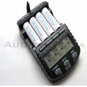 Caricabatterie BC-700 +4 Batterie AA Eneloop