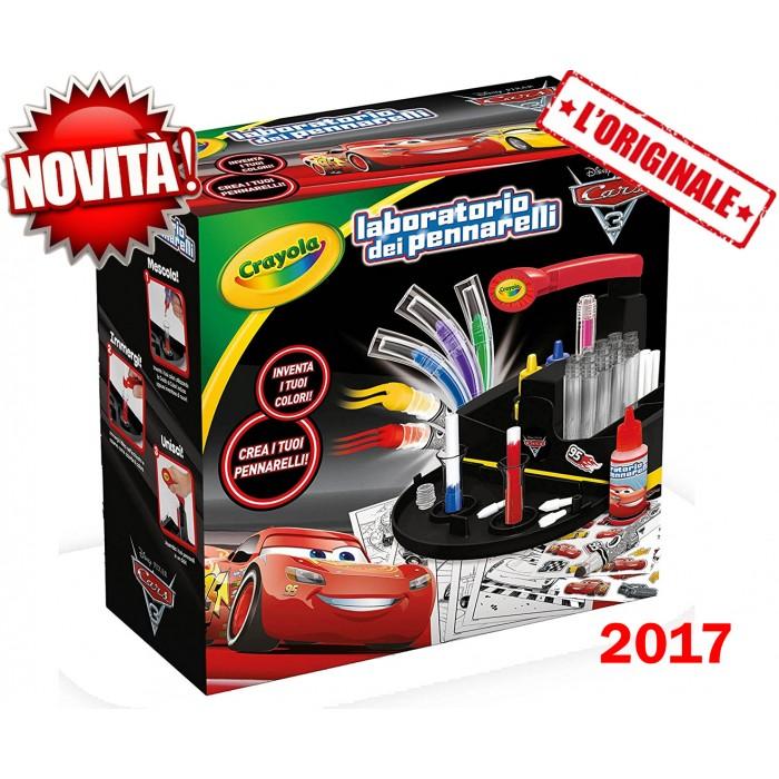 Laboratorio Pennarelli Cars Crayola