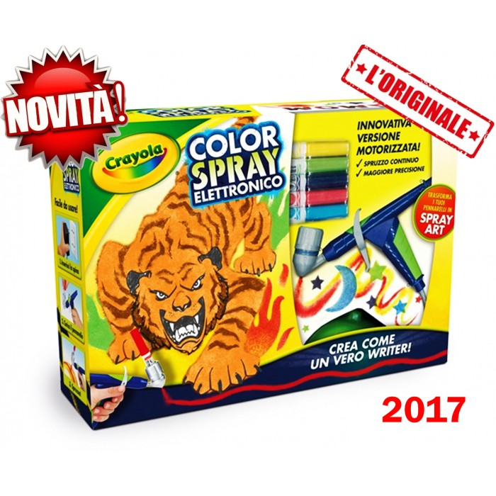 Color Spray elettronico Crayola.