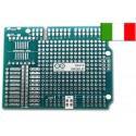 N.2 Shield prototipo Arduino UNO Originale Millefori basetta sperimentale.