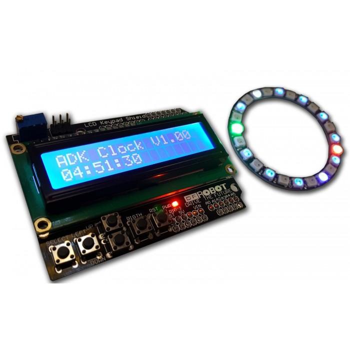 Orologio Digitale + Analogico per Arduino UNO