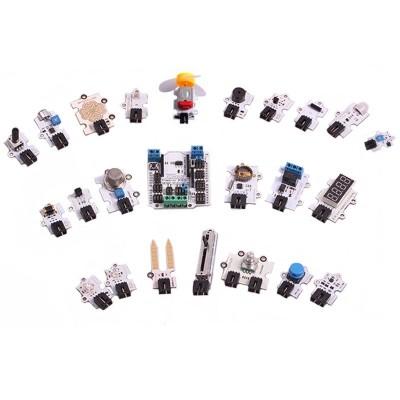 Sensor Shield + 23 Sensori SuperKit per Arduino Uno connettore XBEE